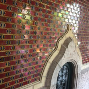 Red tiles Budapest