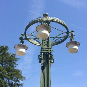 lamp art nouveau vienese