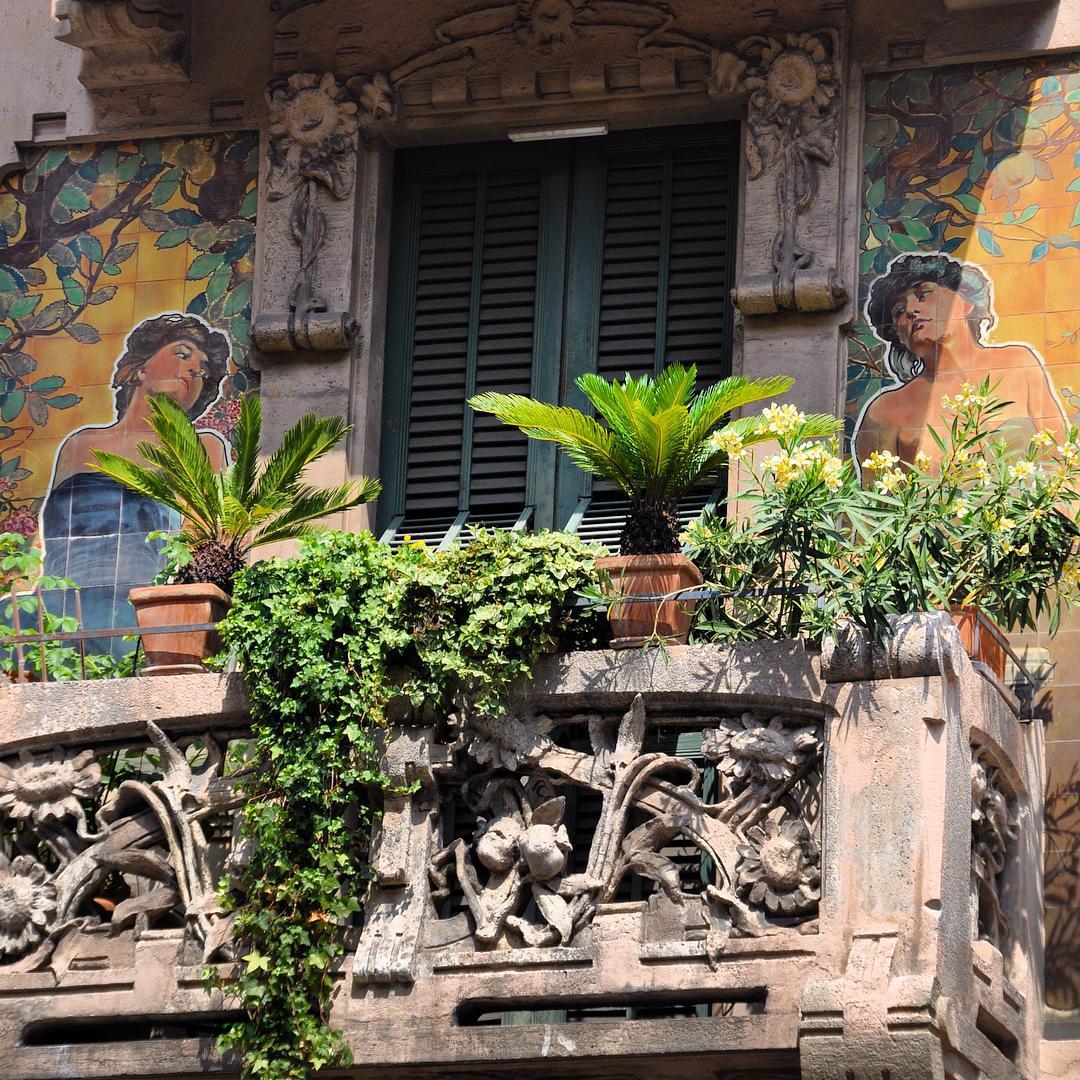 milano Casa Galimberti Art by Giovanni Battista Bossi