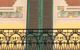 balcony tiles Liberty Style Private Tours Milan