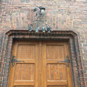 Villa Bílek door