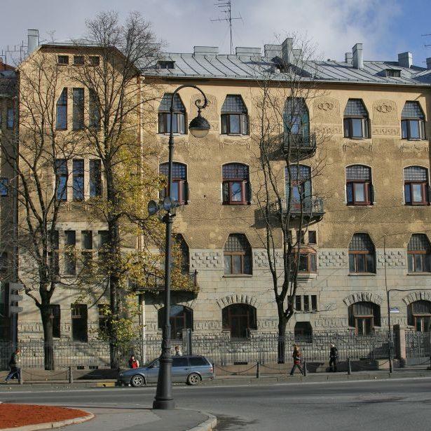Lidval House in St Saint Petersburg