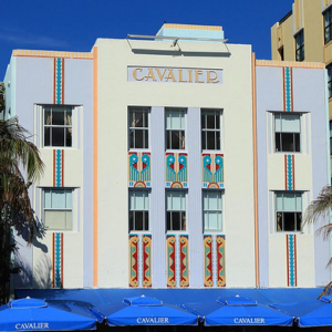 art deco cavalier house