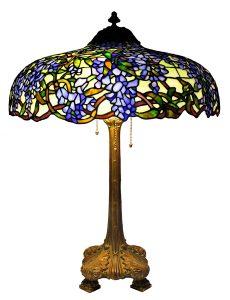 Lamp Art Nouveau guideance