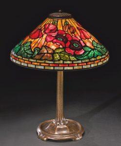 Lamp Art Nouveau City guide