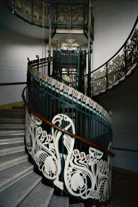 Europe's finest Art Nouveau architecture buildings elevator