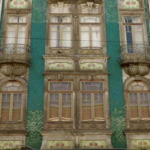 Porto Art Nouveau Arte Nova facade