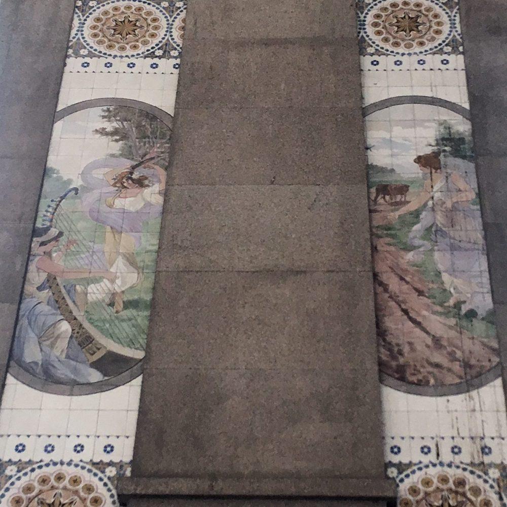 São Bento Station tile arte nova porto