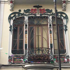 Portugal art nouveau Casa Arte Nova Rua Candido Reis