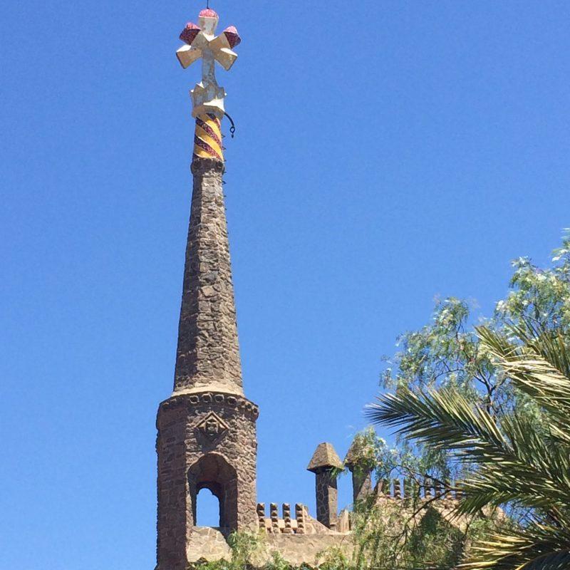 Gaudí Bellesguard chimney