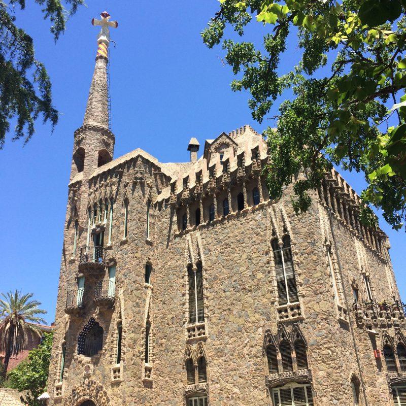 Gaudí Bellesguard building