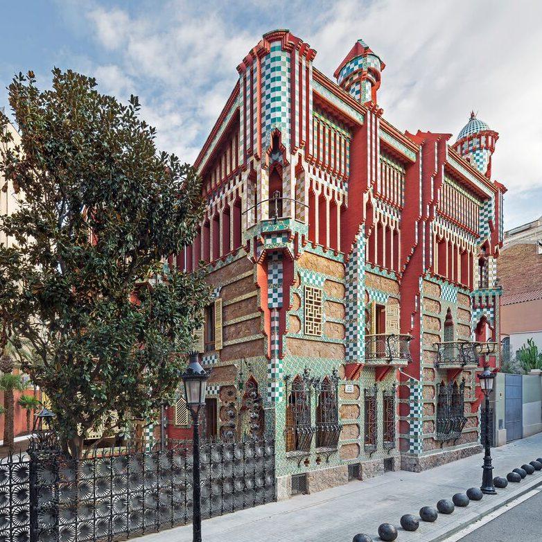 Gaudí Casa Vicens outside