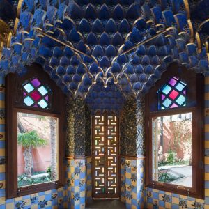 Gaudí Casa Vicens blue room