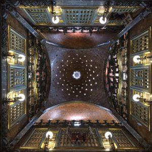 Gaudí Palau Güell ceiling