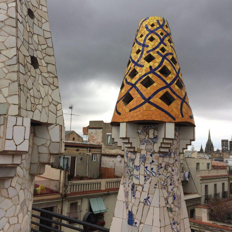 Gaudí Palau Güell chemney