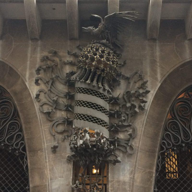 Gaudí Palau Güell door