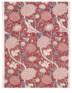 William Morris and the Arts & Crafts movement in Great Britain - red