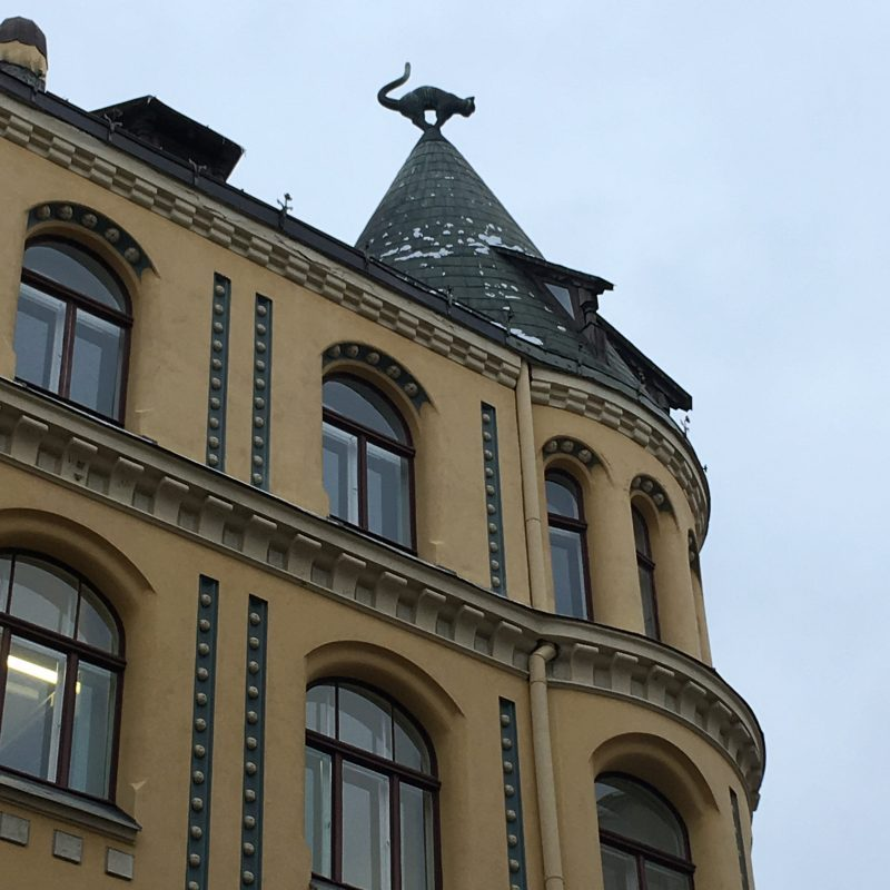 Private Tour Riga Latvia house of the cats