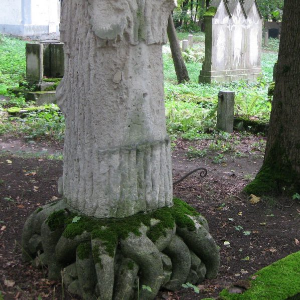 Cemetery Art Nouveau work in the other side of the Daugava river - Riga Art Nouveau Private Tours