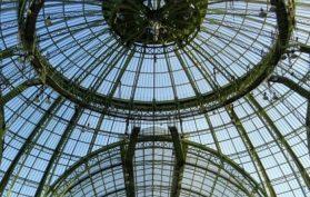 Paris Art Nouveau Belle Epoque - stained glass