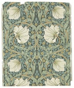 William Morris and the Arts & Crafts movement in Great Britain - flowers