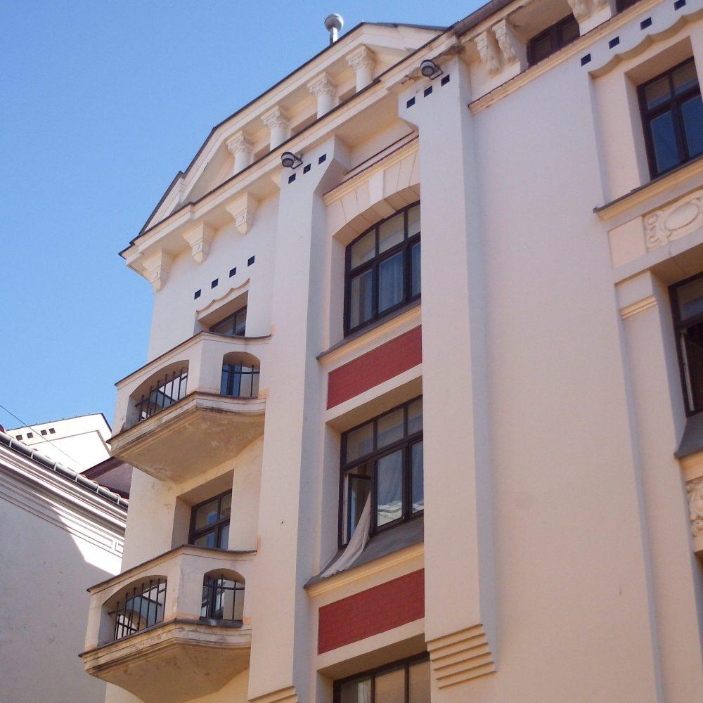 Private Tour Riga Latvia - Old Riga building by Paul Mandelstamm