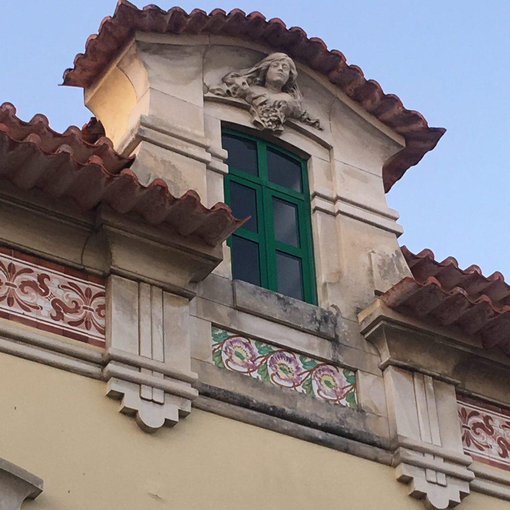 Private tours Art Nouveau Aveiro - house façade