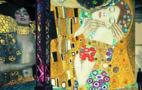 Gustav Klimt Digital exhibition